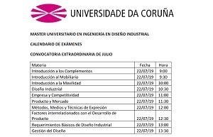 Calendario 2019 Rosa Portugues.Escuela Universitaria De Diseno Industrial Universidade Da